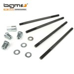 BGM cylinder stud set, with nuts and washers