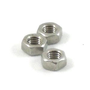 7mm nut: Zinc