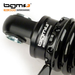 BGM adjustable rear shock Lambretta: black