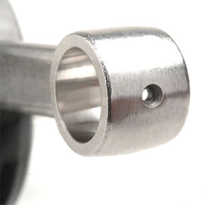 Crankshaft: DL/GP taper 58 x 107mm