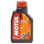 Motul 710 2T oil: 1 liter