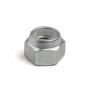 Wheel rim nut: zinc