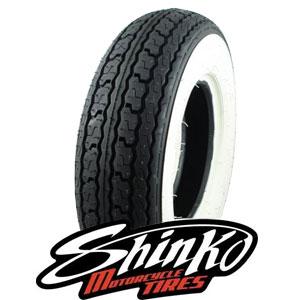 Shinko white wall: 4x8 tire