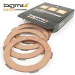 BGM clutch plates: set of 4