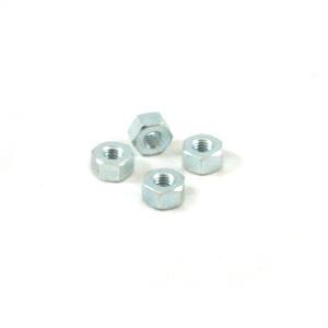 Wheel rim nut: A/B/C/LD/D/LD, Zinc