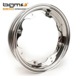 BGM wheel rim, standard: polished stainless