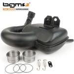 BGM big box touring exhaust for Vespa: P200/Rally200
