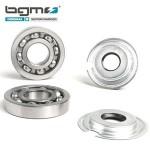 BGM crankshaft bearing & oil seal set: Vespa GS150