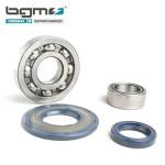 BGM crankshaft bearing & oil seal set: P range (rubber type)