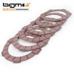 BGM Superstrong clutch cork plates : set of 6