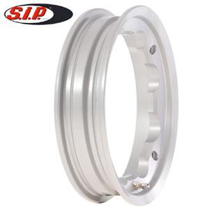 SIP tubeless wheel rim, silver: Lambretta