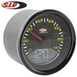 SIP speedometer/tach, black ring: Vespa P range