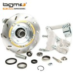 BGM hydraulic disc brake with anti-dive w/ black caliper