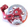 Casa Performance hydraulic disc brake: red