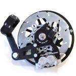 Casa Performance hydraulic disc brake: black