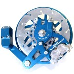 Casa Performance hydraulic disc brake: blue