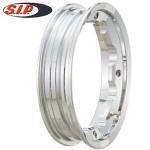 SIP tubeless wheel rim, chrome: Lambretta