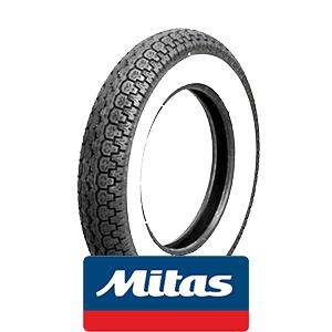 Mitas B14 white wall: 3.5x10 tire 51J
