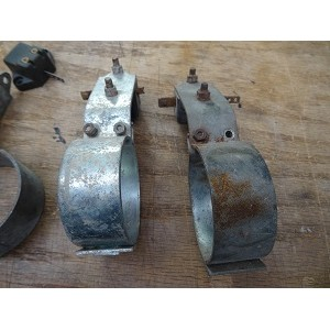 Rear brake light switch and bracket: LD