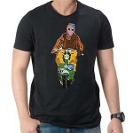 Kdog! Lambretta C art T Shirt: Black