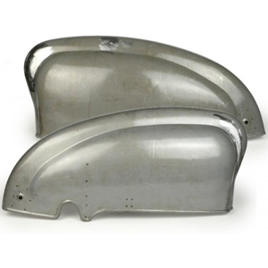 Side panel set: Lambretta series 1 early
