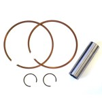 Casa Lambretta set of piston rings, wrist pin and clips for Casa 185