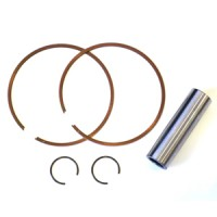 Casa Performance set of piston rings, wrist pin and clips for 185