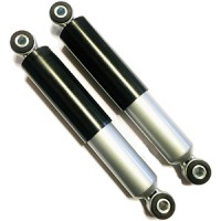 Front dampers: Serveta after 1978 black and silver