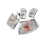 BGM turn signal set: Vespa P , clear
