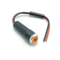 Serveta headset warning light: amber