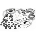 Complete rubber kit, Series 1-2: grey