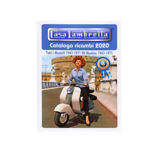 2020 Casa Lambretta 40th Anniversary Catalog, book