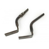 Rear floorboard support bracket set: Series 1-2