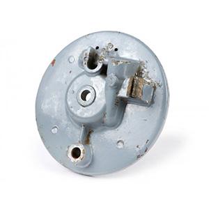 Front hub brake drum back plate, Lambretta Series 1-2, DL/GP, Serveta