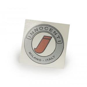 "Round ""Innocenti"" sticker for model C"