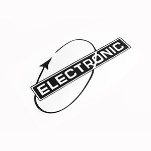 Leg shield Electronic sticker: black