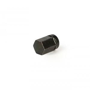 Wheel rim nut: tubeless wheels, black