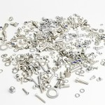 Almost complete hardware kit for series 1-3 Lambretta stainless