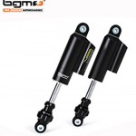 BGM PRO F16 COMPETITION adjustable front dampers Lambretta: black