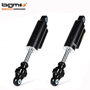 BGM PRO F16 COMPETITION adjustable front dampers Lambretta: black