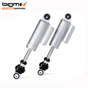 BGM PRO F16 COMPETITION adjustable front dampers Lambretta: silver