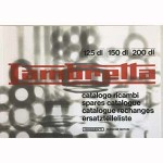Lambretta DL/GP parts catalog, book