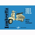 Lambretta series 2 parts catalog, book