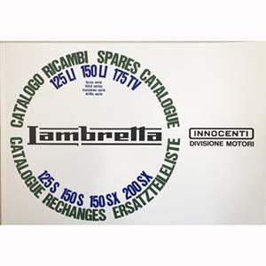 Lambretta series 3 parts catalog, book