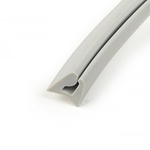 Leg shield toolbox rubber gasket: Series 1-3, DL/GP, Serveta, grey
