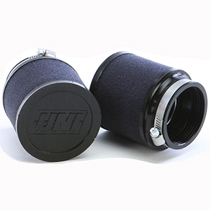 """UNI clamp-on """"POD"""" air filter, 2 inch to fit air hose, short"""