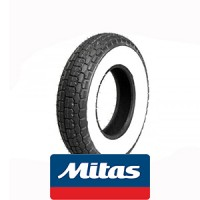 Mitas B13 white wall: 4x8 tire 66J