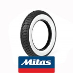 Mitas MC12 white wall: 3x10 tire 42J