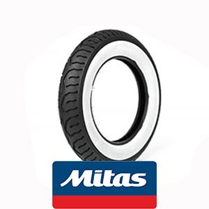 Mitas MC12 white wall: 3x10 tire 42J