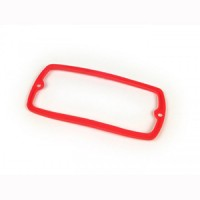 Tail light lens gasket: Series 2-3 red